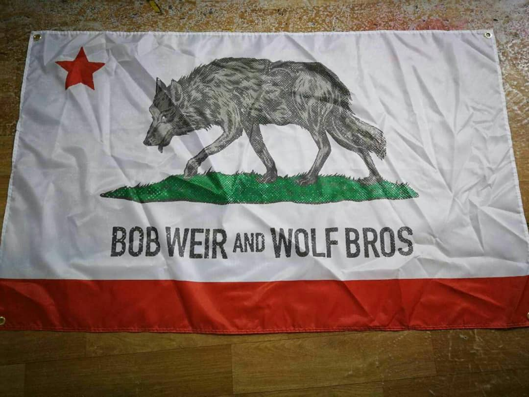 3x5 Wolf Bros Tour Flags!!