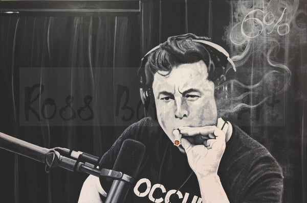 Image of J.R.Elon (3x2ft canvas print)