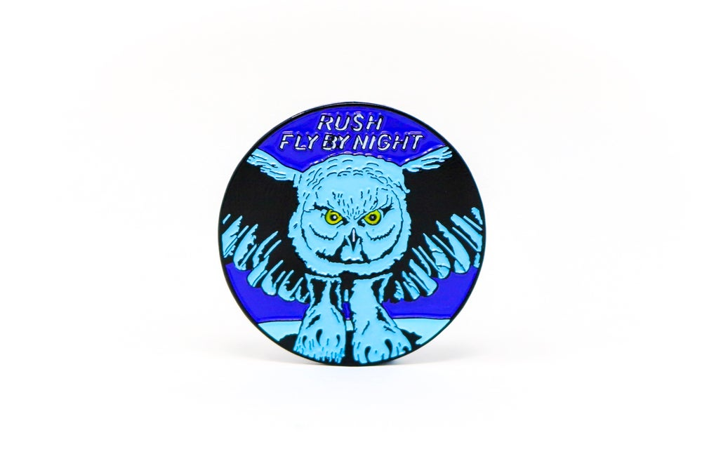 Image of Rush - Fly By Night Enamel Pin