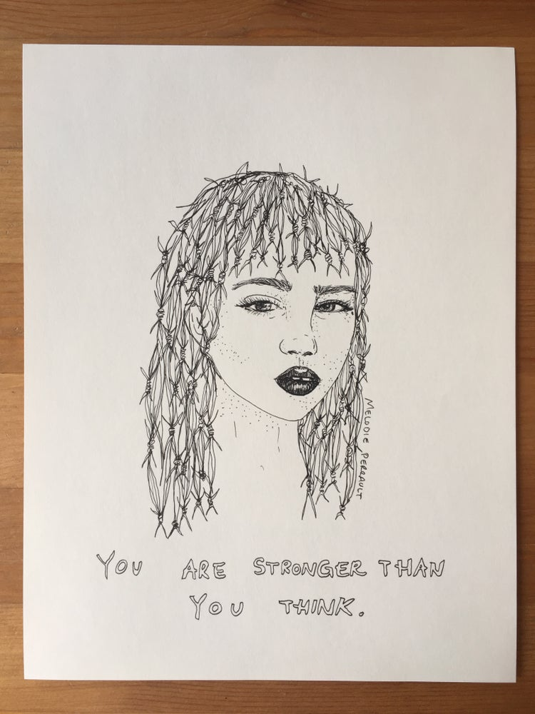Image of original - you are stronger than you think