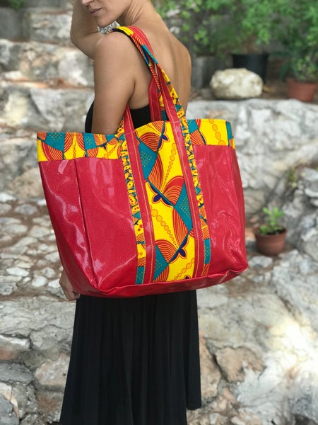 Image of Sac Kadi, Shopper, Sac wax et et skaï by @Sunoogo