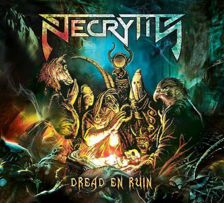"Image of Necrytis ""Dread En Ruin"" CD 2018"
