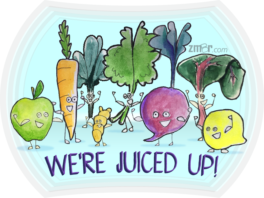Image of We're Juiced Up! Sticker
