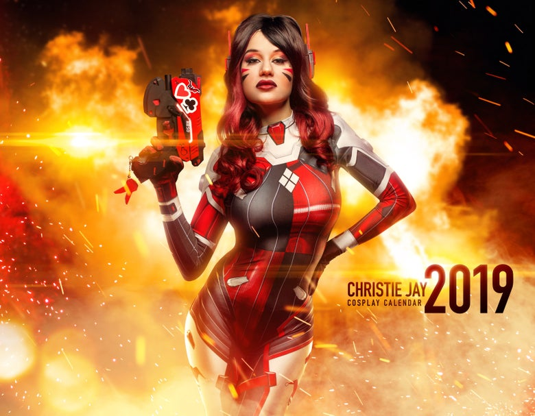 Image of 2019 Cosplay Calendar (SIGNED AND PERSONALIZED)