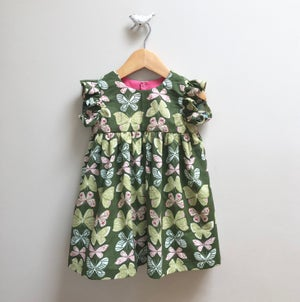 Image of Butterfly Ruffle Mini Dress