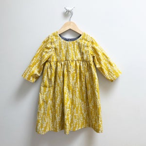 Image of Mustard Mini Dress