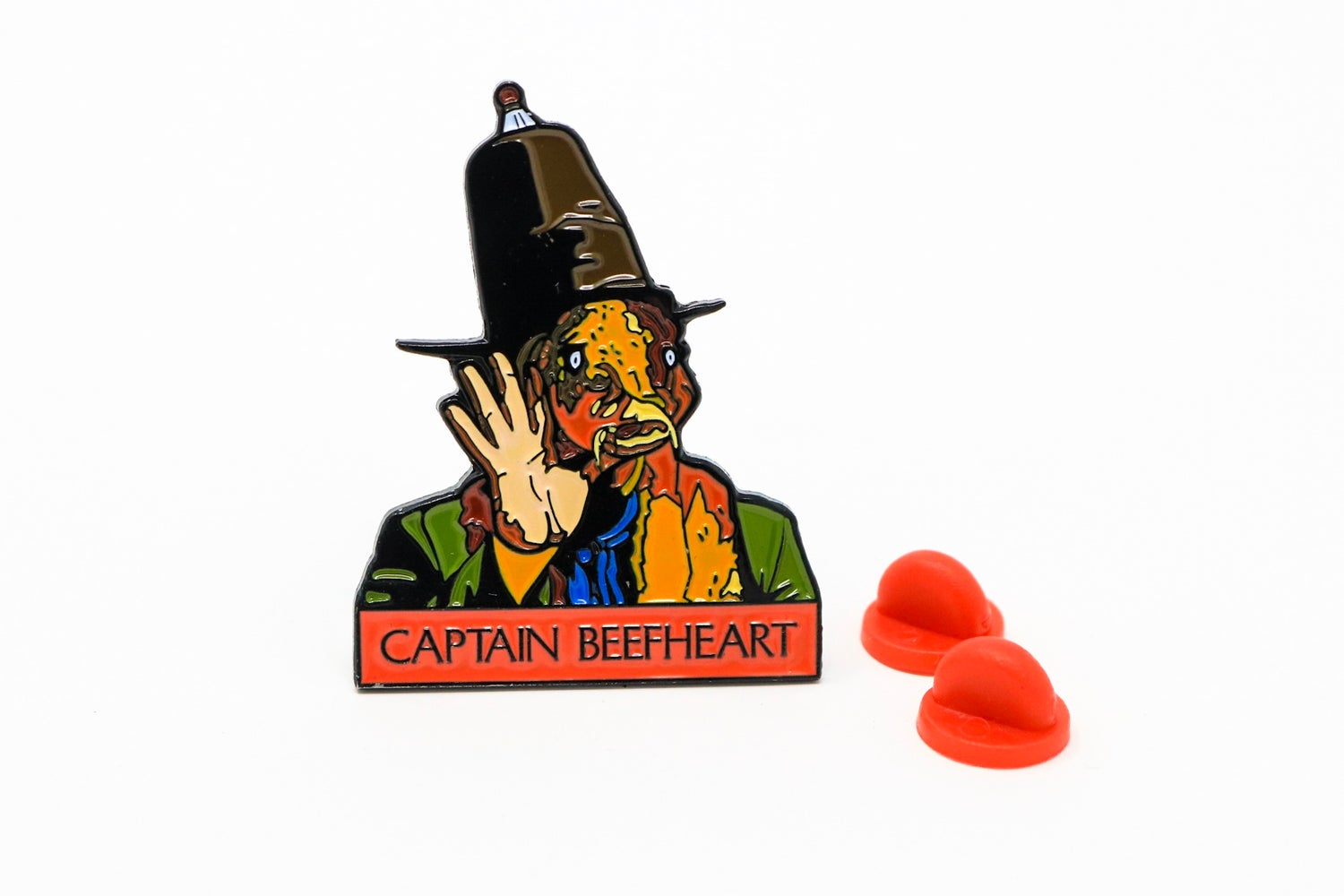 Image of Captain Beefheart - Trout Mask Replica Enamel Pin