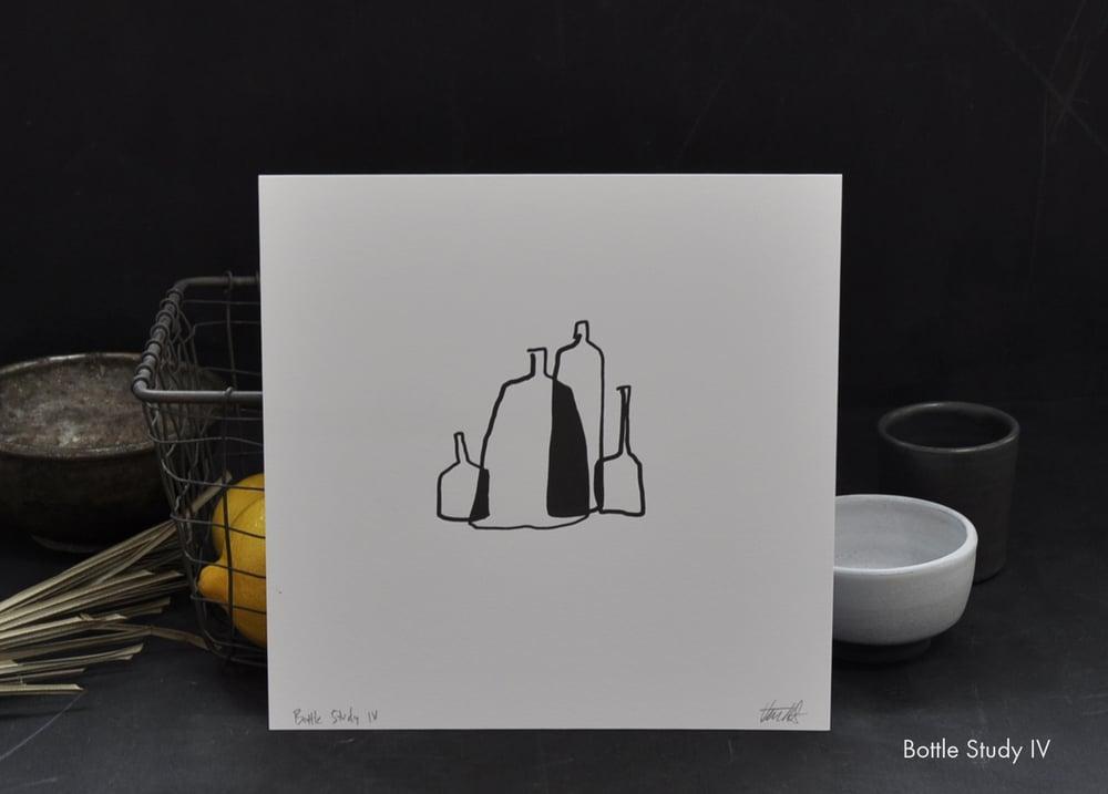 Image of Letterpress Bottle Print