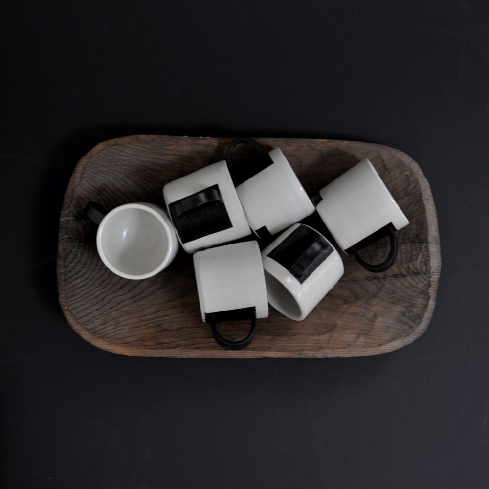 Image of B&W Block Mug