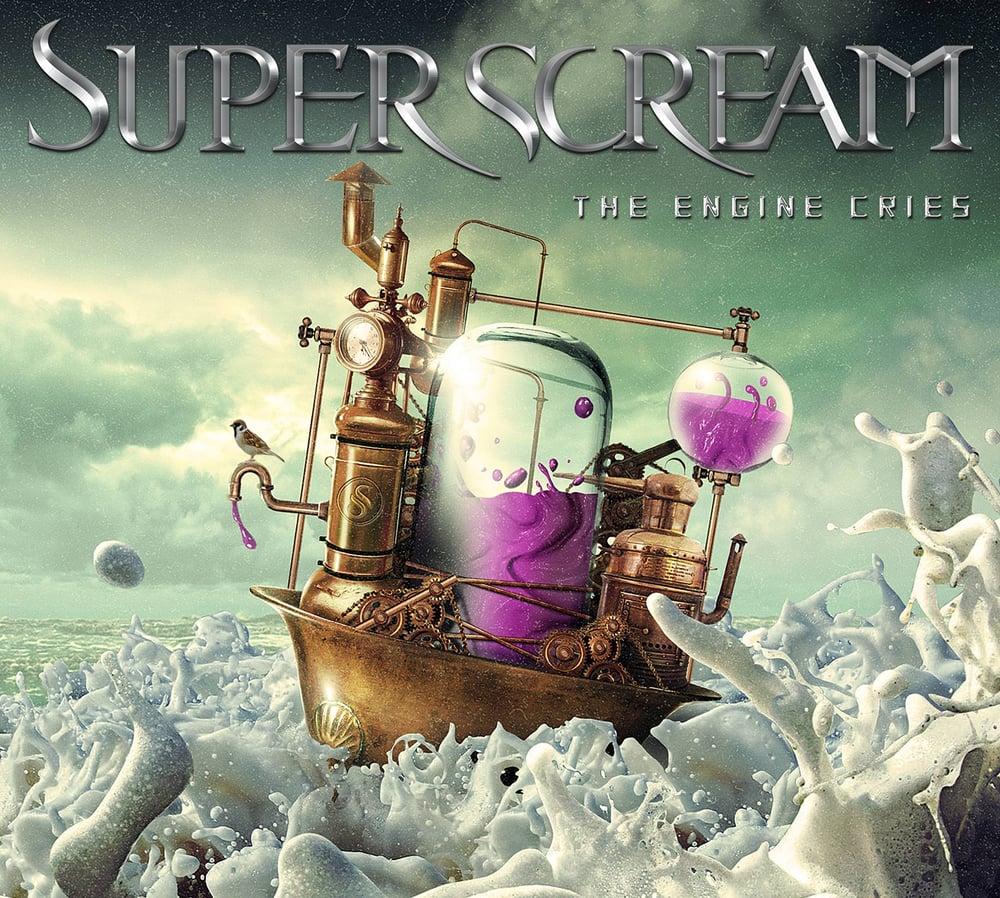 "Image of Superscream ""The Engine Cries"" CD Digipak 2017"