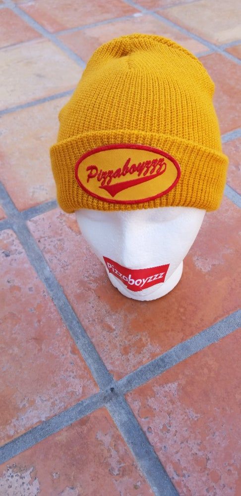 Image of YELLOW DIRTY DRIVER BEANIE