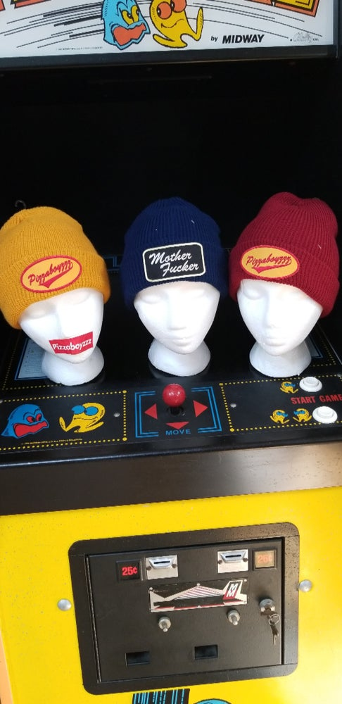 Image of RED DIRTY DELIVERY DRIVER BEANIE