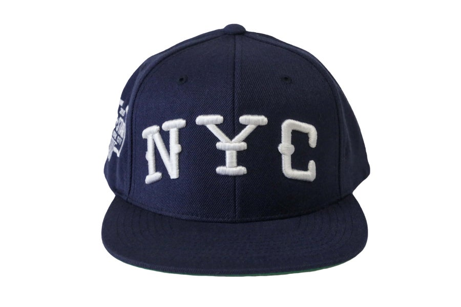 Image of TFG Navy Blue N.Y.C SnapBack