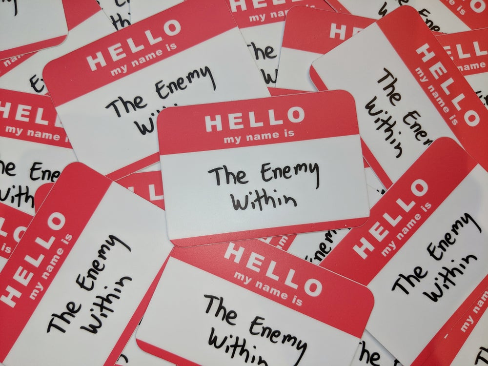Image of Enemy Within Sticker