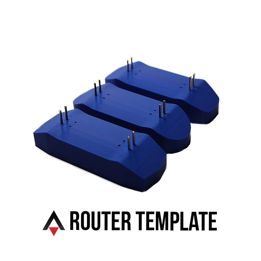 Image of Rocket Mold Template