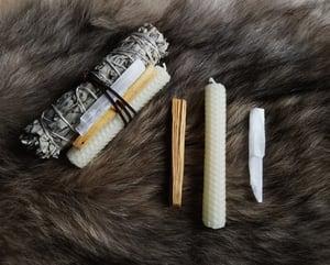 Image of Wolf Smudge Kit - Sage Cleansing Bundle