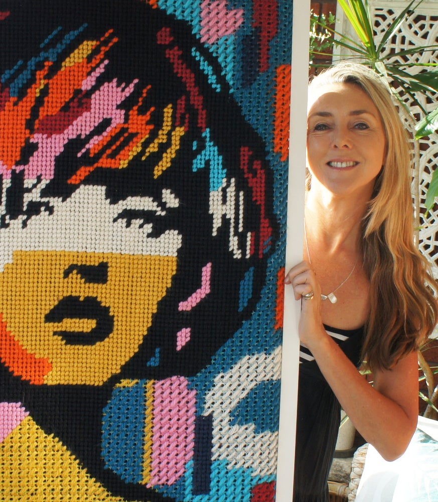 Image of Needlepoint Tapestry workshop with Nikki McDonald October 6th 10-1pm