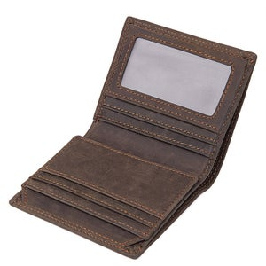 Image of Compact & Slim Leather Wallet