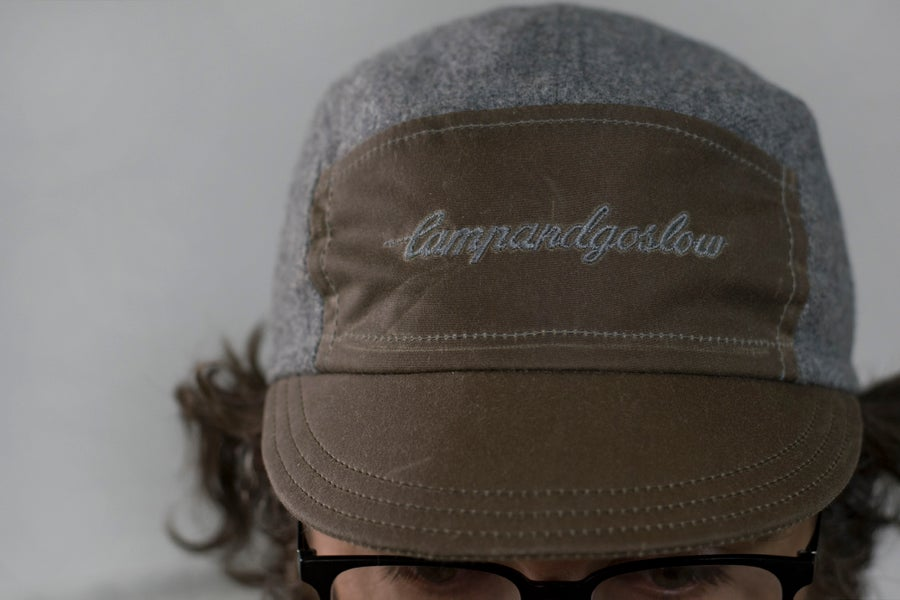 Image of Camp And Go Slow 5 Panel Cap By Randi Jo Fab