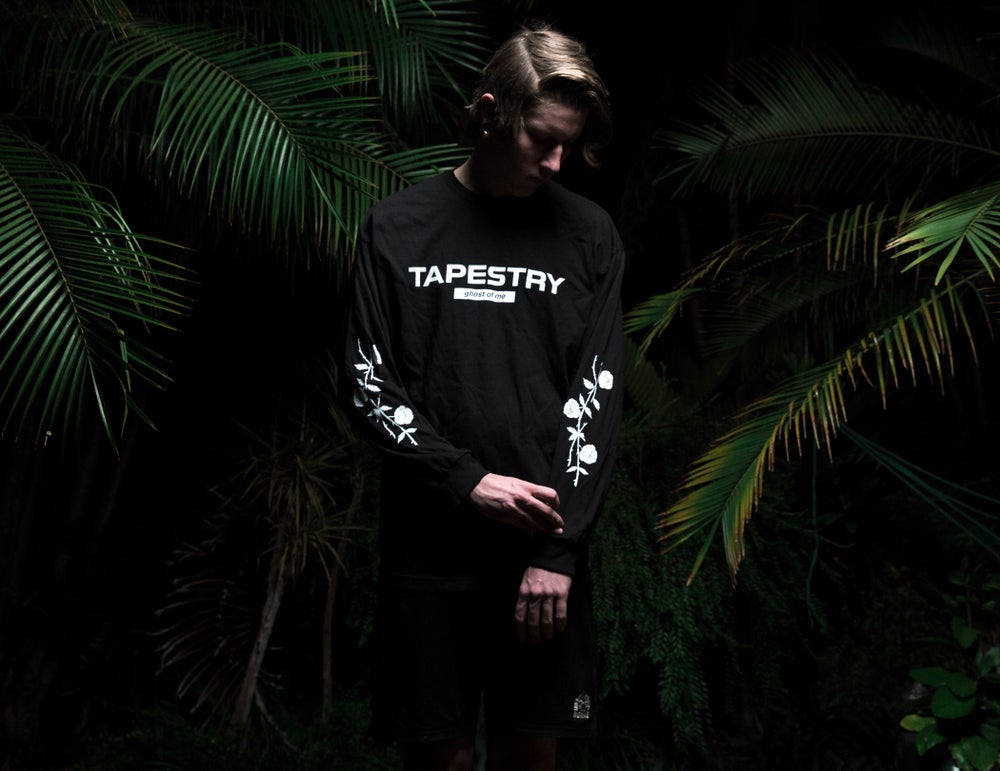 Image of Ghost of Me Long-sleeve (Black)