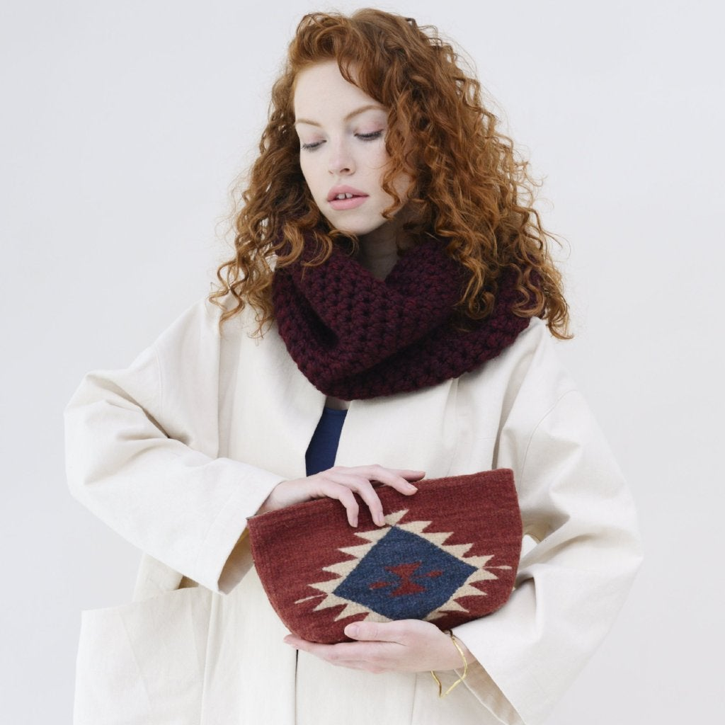 Image of Ruby + Rain Lupita Clutch