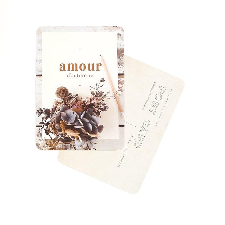 Image of Carte postale AMOUR D'AUTOMNE