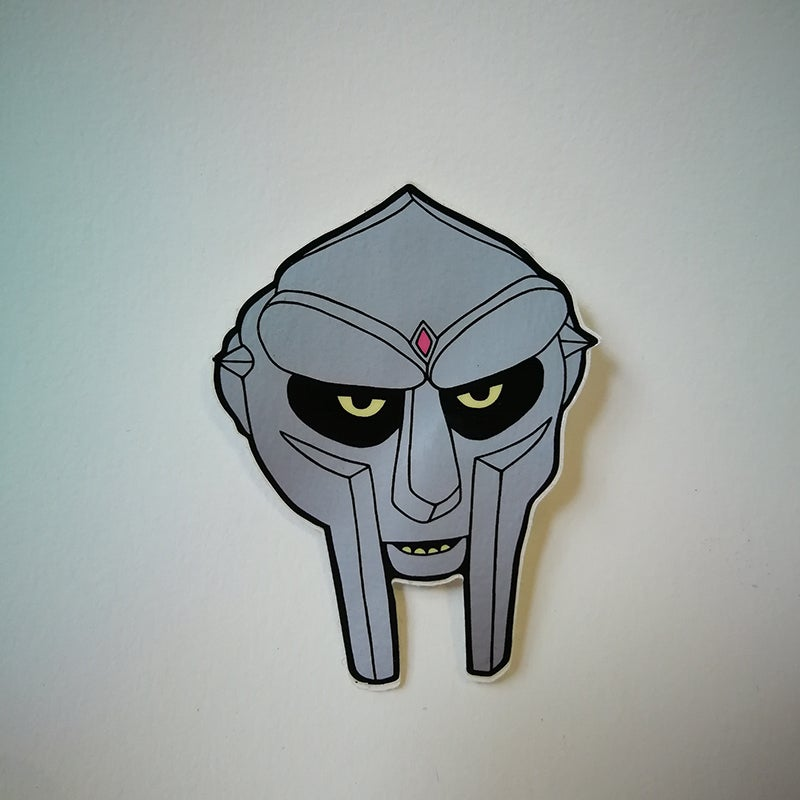 "Image of Sticker ""Doom"" par Gangster Doodles"