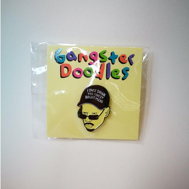 Image of Pin's Dave Chappelle par Gangster Doodles
