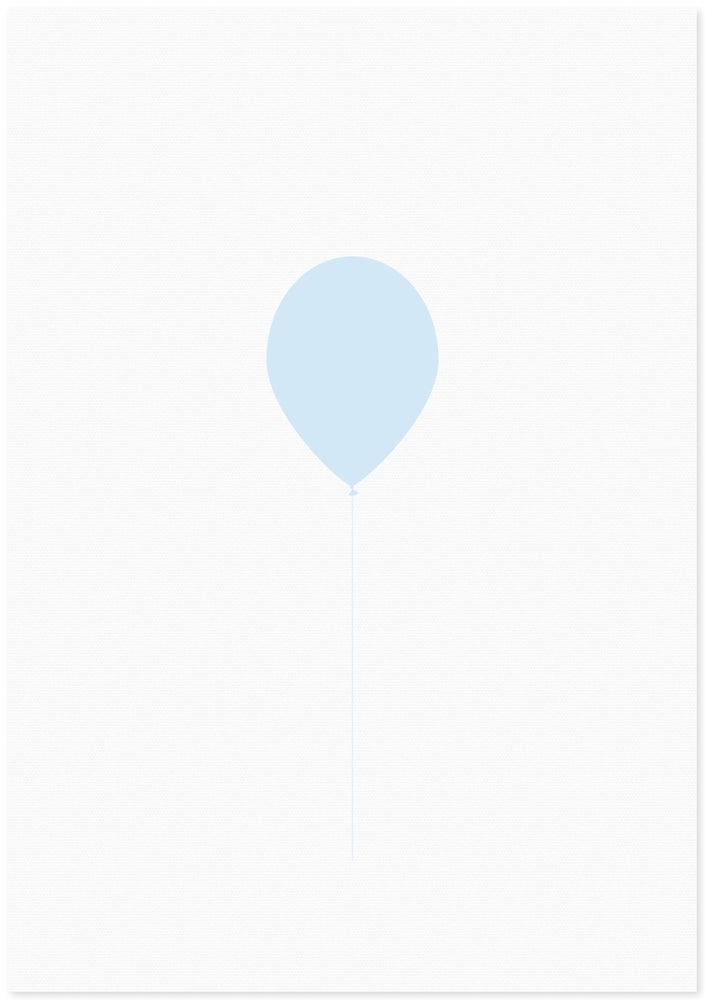 Image of balloon | blue