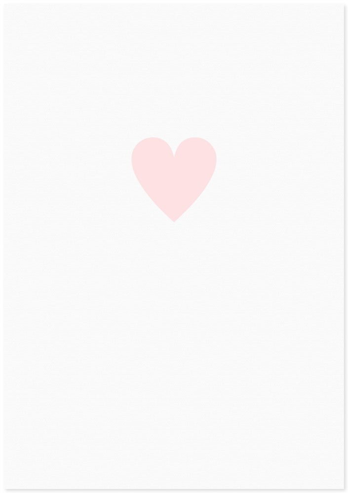 Image of love heart | small pink