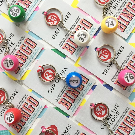 Image of Bingo keyrings