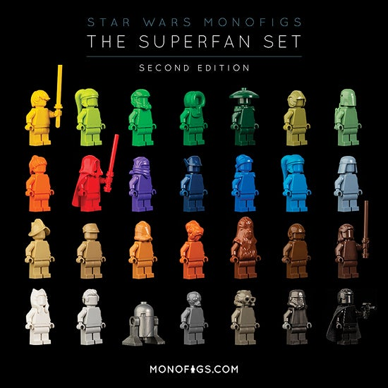 Image of THE STAR WARS SUPERFAN SET - SECOND EDITION [LIMITED]