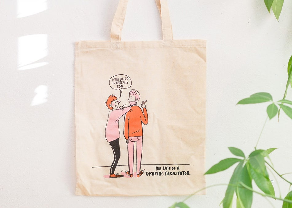 Image of The Life of a Graphic Facilitator | Tote Bag