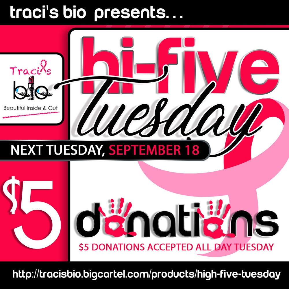 Image of HIGH FIVE TUESDAY
