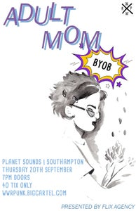 Image of ADULT MOM AT PLANET SOUNDS