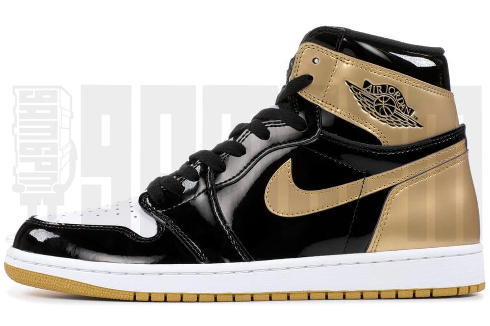 "Image of Nike AIR JORDAN 1 RETRO HIGH OG NRG ""GOLD TOP 3"""