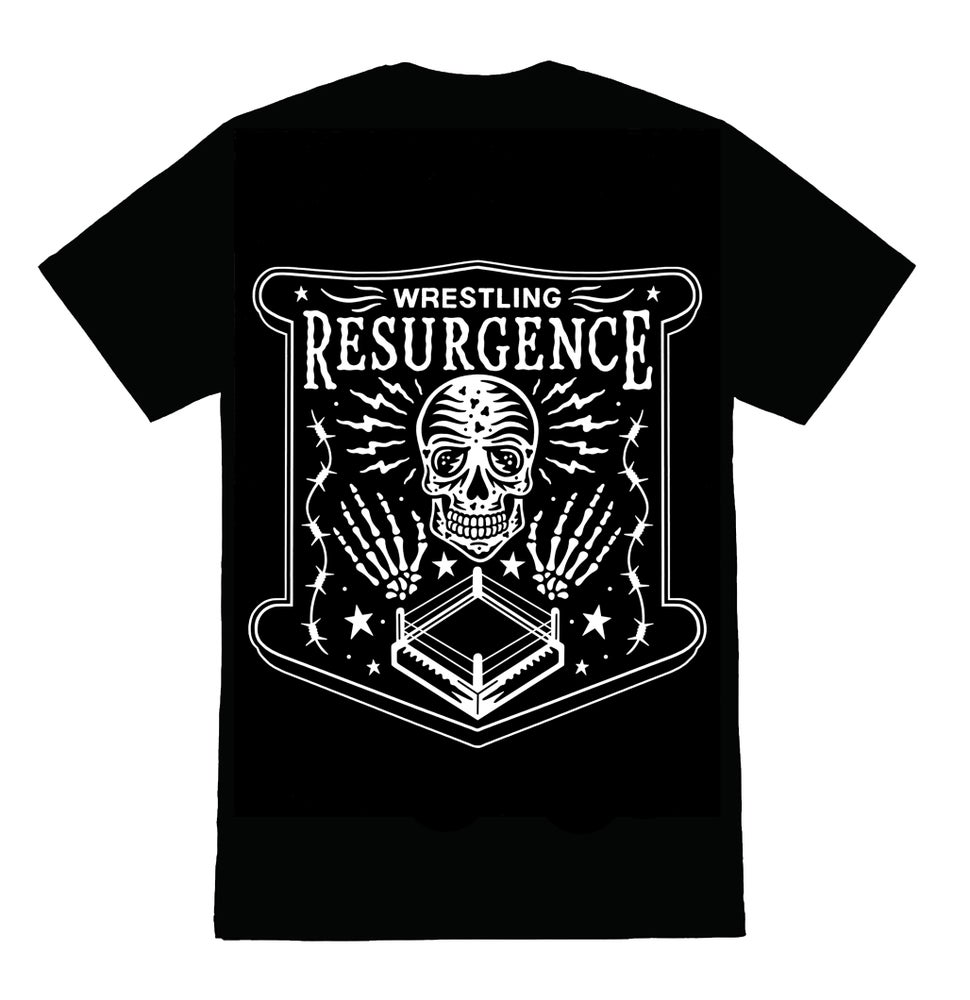 Image of Wrestling Resurgence Logo Shirt