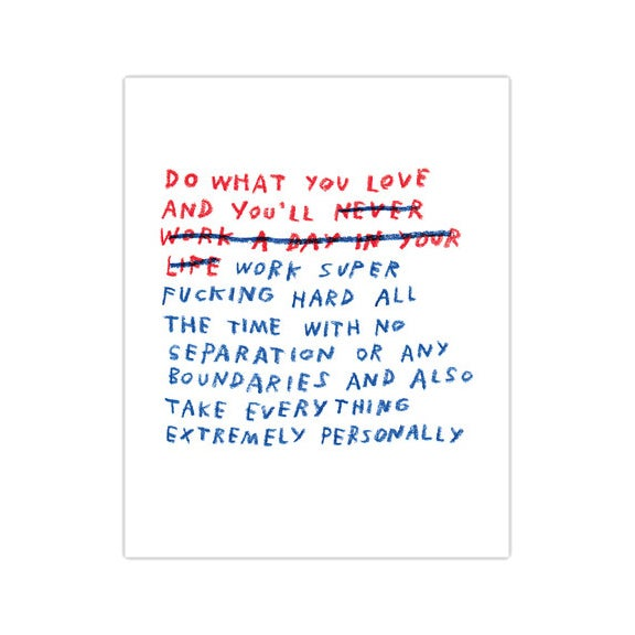 "Image of ""Do What You Love"" Print"