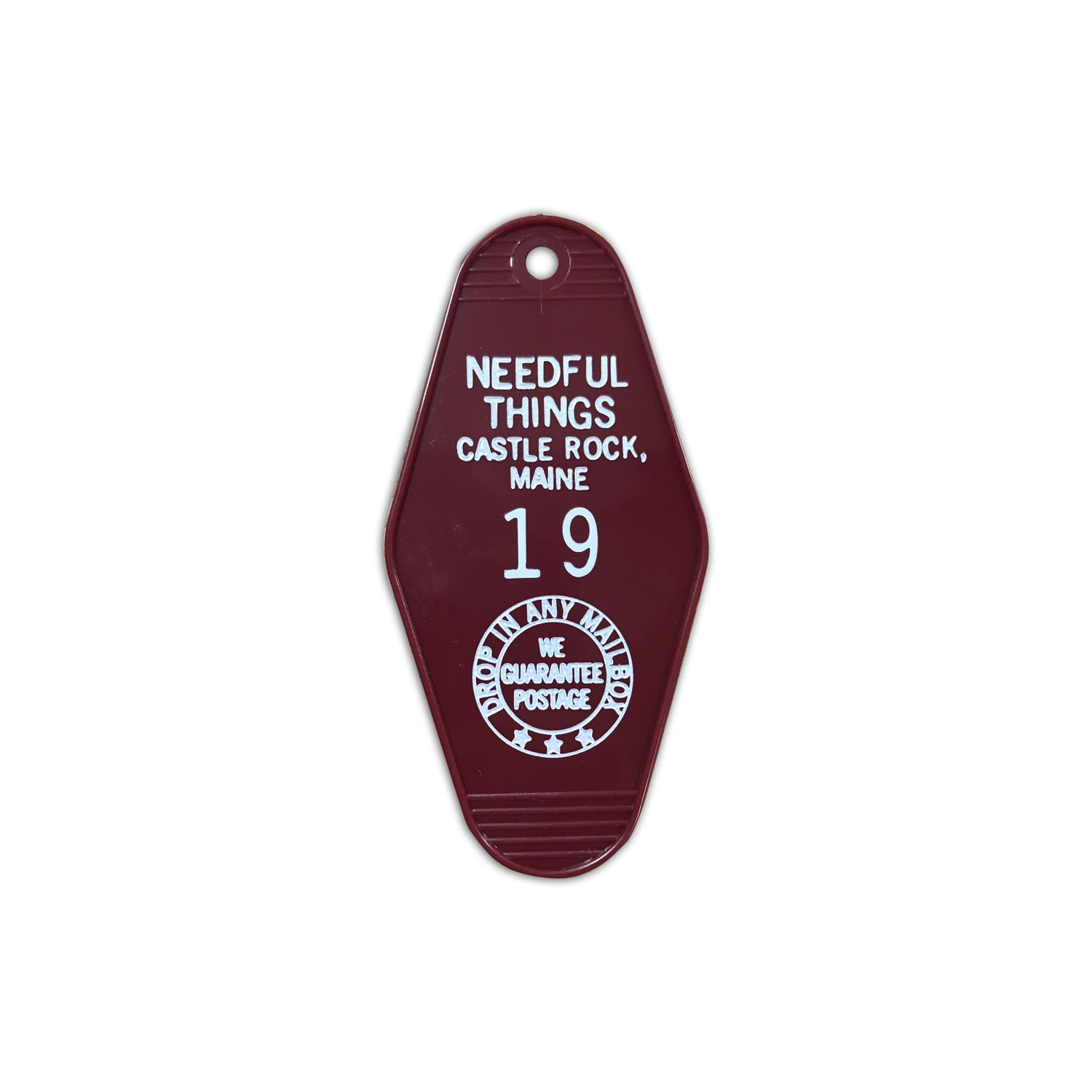 Image of Needful Things key tag