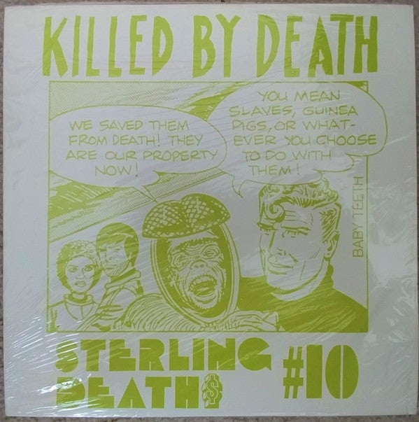 "Image of VARIOUS ARTISTS - ""Killed By Death Volume 10"" LP"