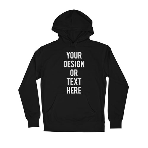 Image of Custom Design on Dark Hoodie