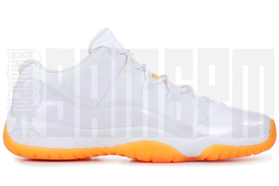 "Image of Nike AIR JORDAN 11 RETRO LOW GG ""CITRUS"""