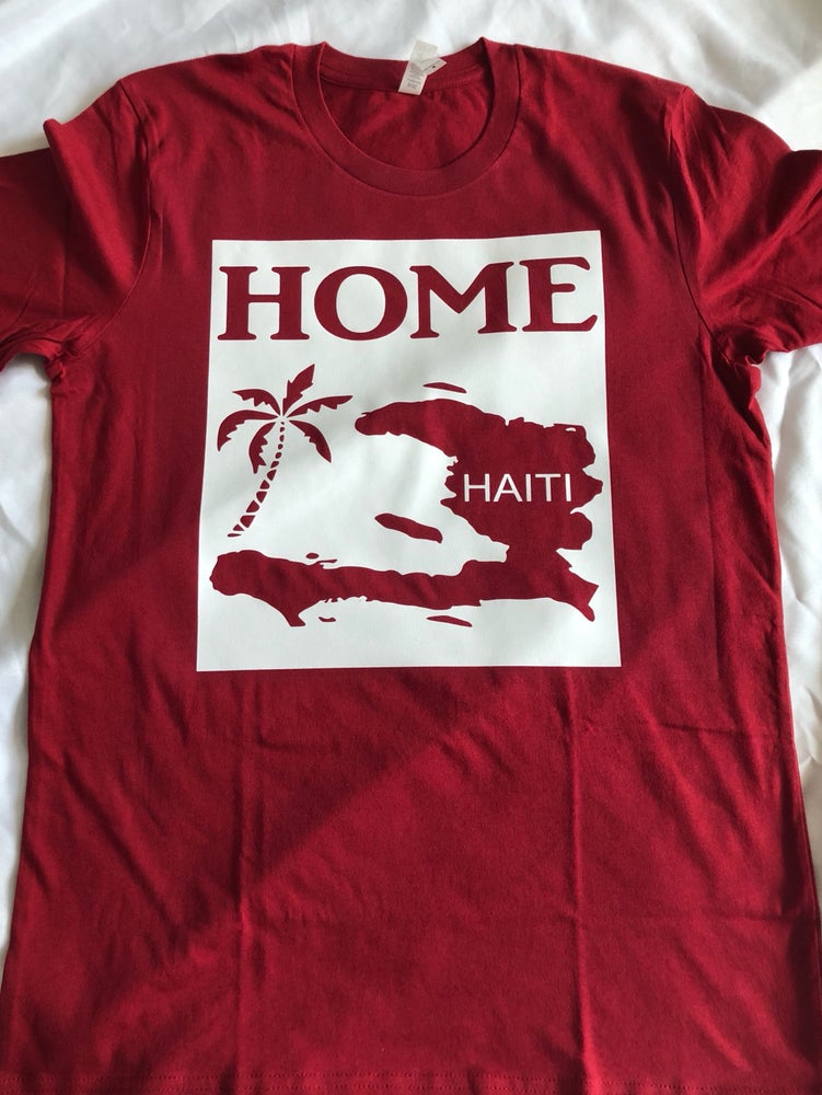 Image of Home white and red