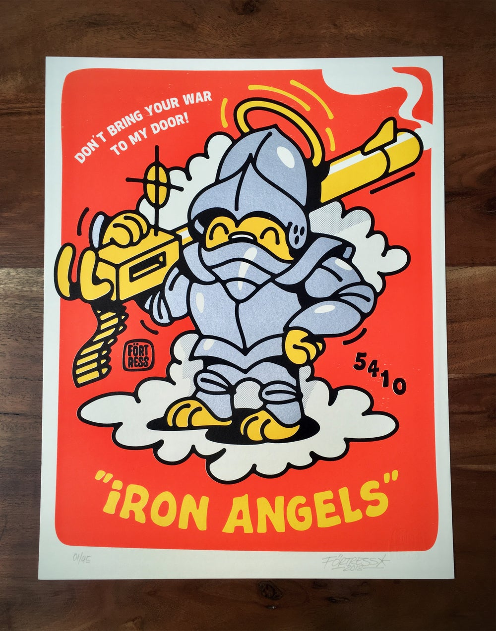 Image of FLYING FÖRTRESS - Iron Angels | Signed Edition