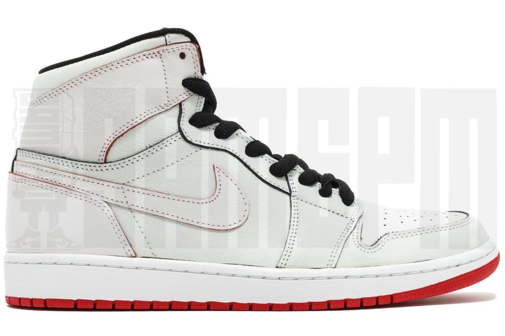 """Image of Nike AIR JORDAN 1 SB QS """"LANCE MOUNTAIN"""" WHITE"""