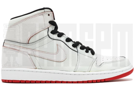 "Image of Nike AIR JORDAN 1 SB QS ""LANCE MOUNTAIN"" WHITE"