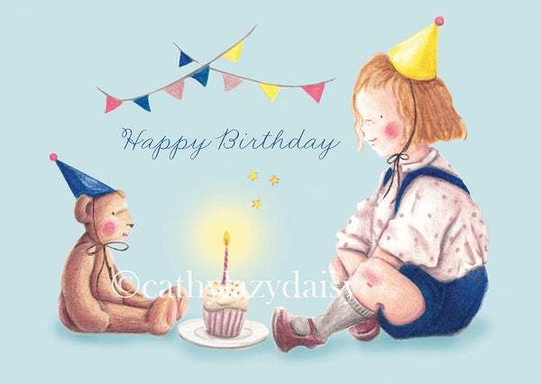"Image of ""Birthday party"" card"