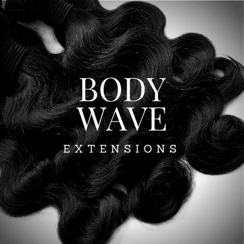 Image of BRAZILIAN BODY WAVE HAIR EXTENSIONS