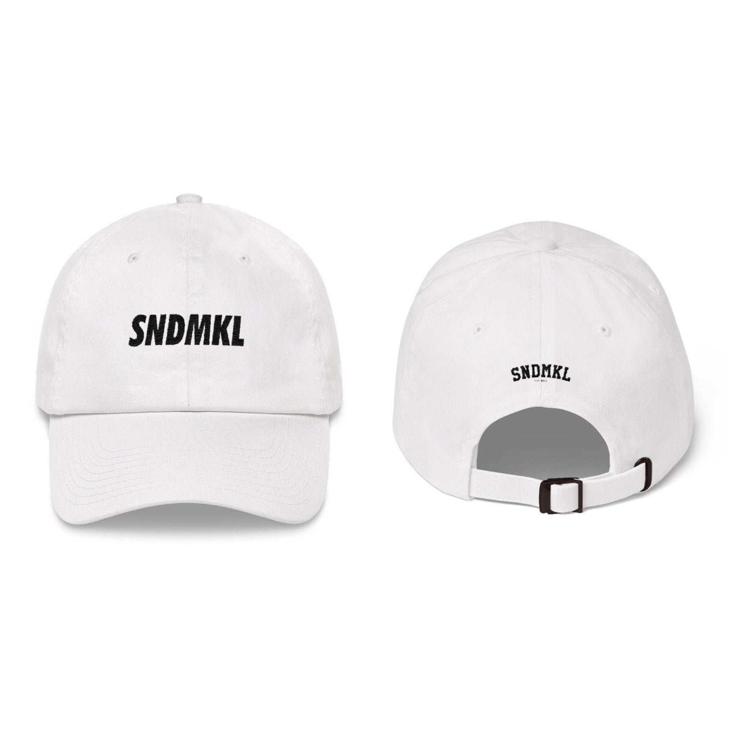 "Image of WHITE: SNDMKL ""Sandamukal"" Dad Hats (Embroidered)"