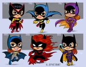 Image of Evolution of Batgirl